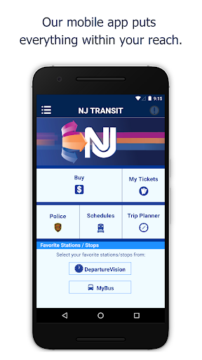 NJ TRANSIT Mobile App Apk apps 1