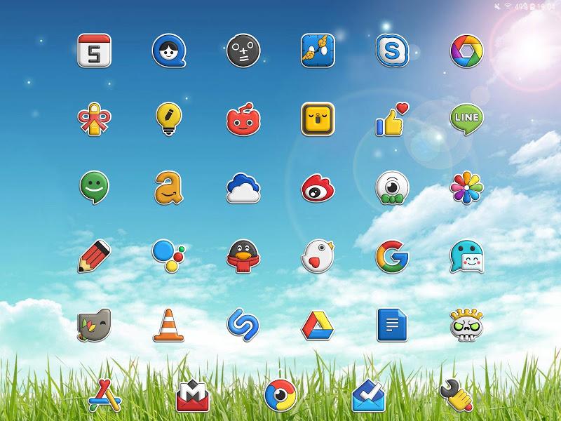 Poppin icon pack Screenshot 6