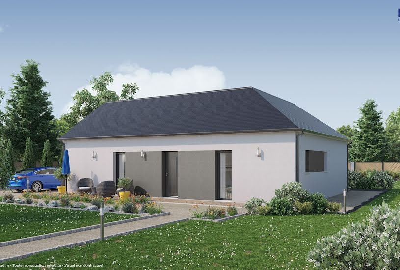 Vente Terrain + Maison - Terrain : 815m² - Maison : 89m² à Montagny-lès-Beaune (21200)