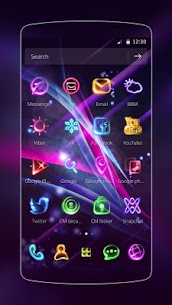 Neon Light Icon Packs Premium (Cracked) 8