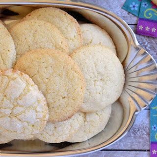 (No-Roll) Soft & Puffy Sugar Cookies.