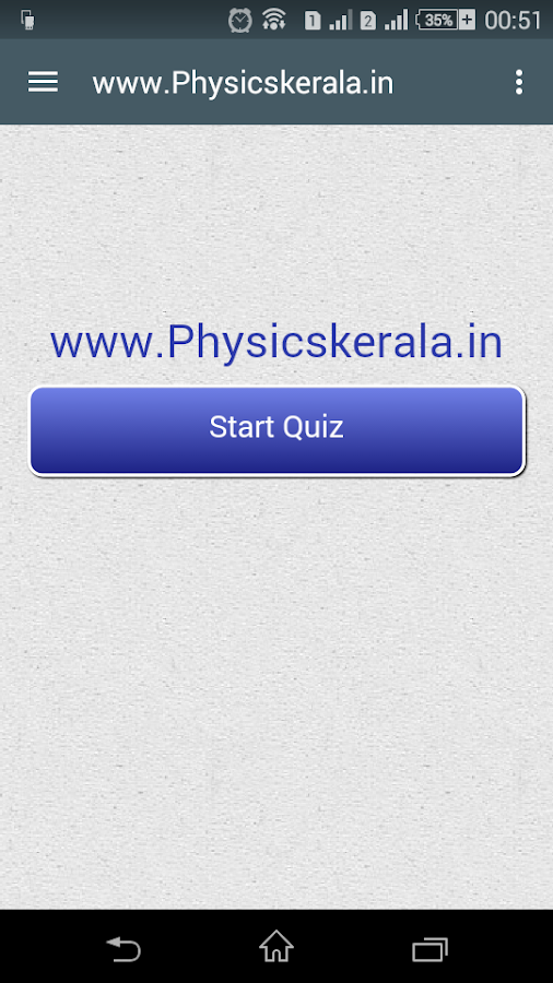 Physics Kerala, Alerts & MCQ- screenshot