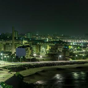 Light City by Fernando Cordeiro - City,  Street & Park  Night