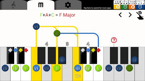 Piano Chord Helper - náhled