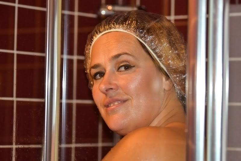 La doccia di acquario