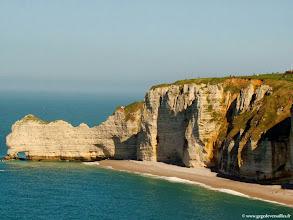 Photo: #024-Etretat, la falaise d'Amont.