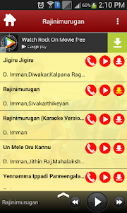 Rajinimurugan Movie Songs screenshot 1