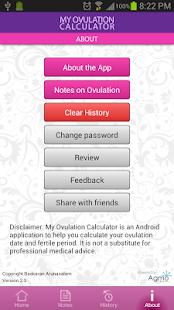 App My Ovulation Calculator APK for Windows Phone