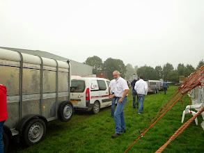 Photo: Lossen van de geiten.