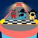 Impostor Among Us Run Race Games icon