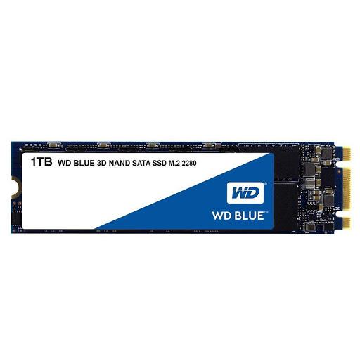 Ổ cứng SSD WD Blue 1TB M2-2280 (WDS100T2B0B)