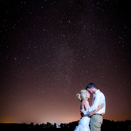 by Morne Kotze - Wedding Bride & Groom