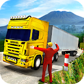 Uphill Cargo Transport Truck Driver 2019