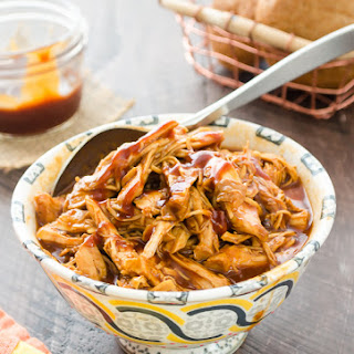 Easy Slow Cooker BBQ Pulled Chicken