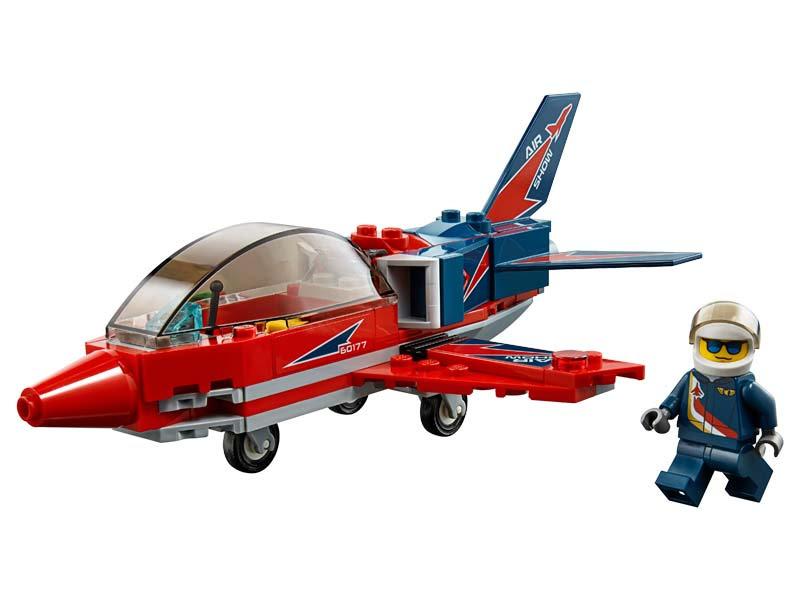 Contenido de Lego® 60177 Jet de Exhibición