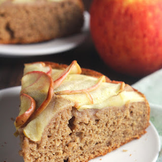 Simple Cinnamon Apple Cake.