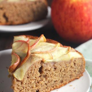 Simple Cinnamon Apple Cake.