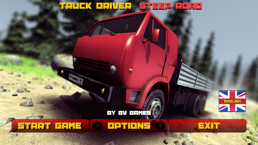 Truck Driver steep road