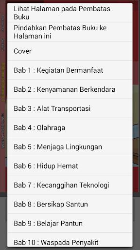 Buku Bahasa Indonesia 4 SD  screenshots 4