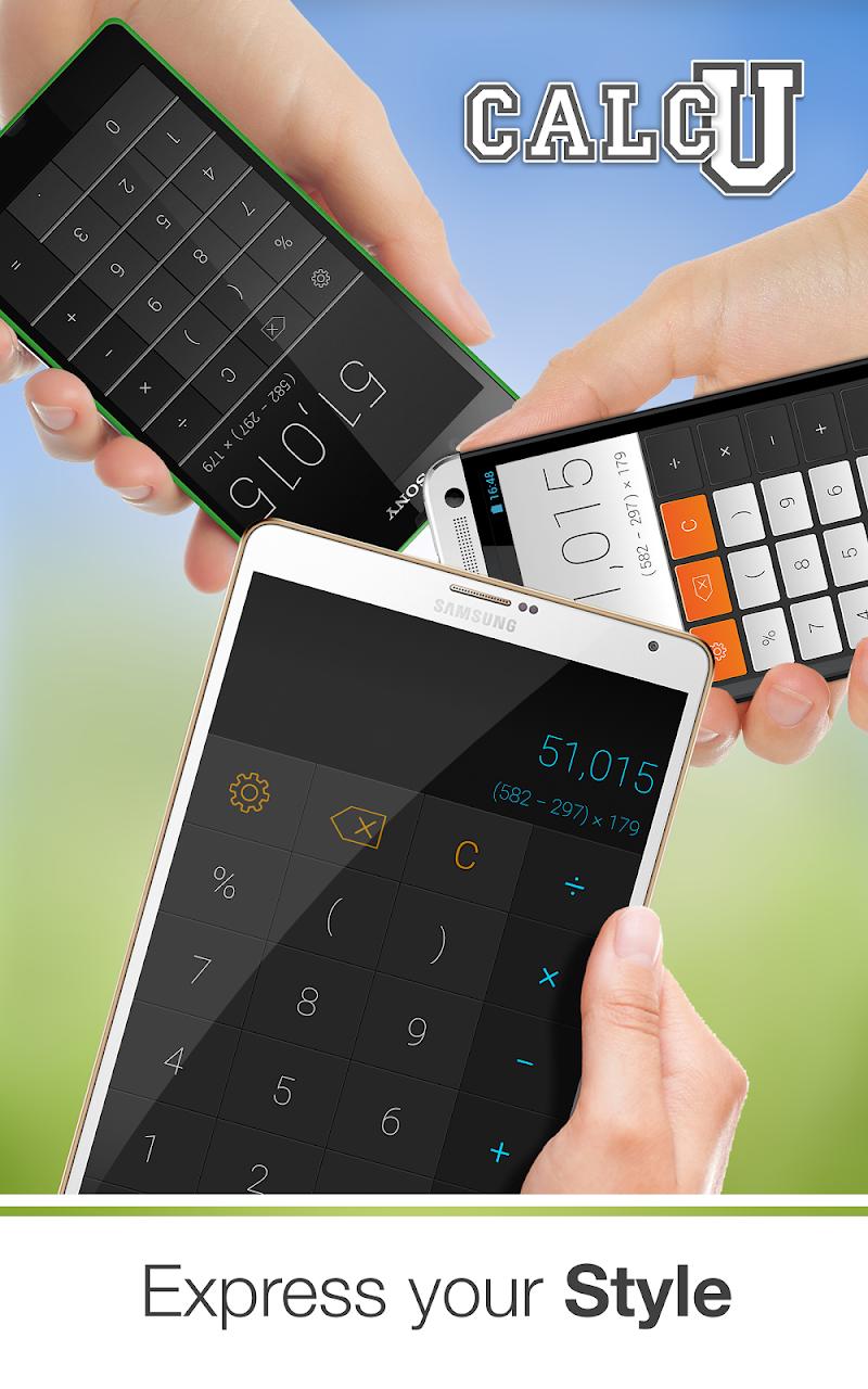 CALCU™ Stylish Calculator Free Screenshot 9