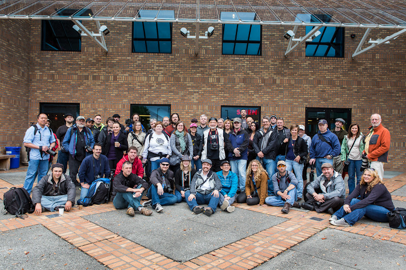 Photo: PDX Known How To Photowalk - Attendees, please tag yourselves!  Once again, I'm humbled and beside myself at the turnout that we had for today's +Scott Kelby Worldwide Photo Walk. We had people drive down from Washington and up from as California. A couple o' people flew in from Tucson and even one from all the way out in Washington DC.  Huge props to the massive G+ contingent, too. We nabbed another smaller group shot that +Tamara Pruessnerwill post once she gets settled back home.  All in all, this was such a wonderful event. Thankfully, I got no reports of anyone being squished by a moving train or arrested by PDXPD. Remember, for those who registered for the walk, keep an eye out for submitting your favorite image from the event.  Next up - for everyone who attended, post your best image with the hashtag #WWPWPDX to enter a contest for a chance to win a copy of Perfect Photo Suite 7 by +onOne Software!  #WWPW