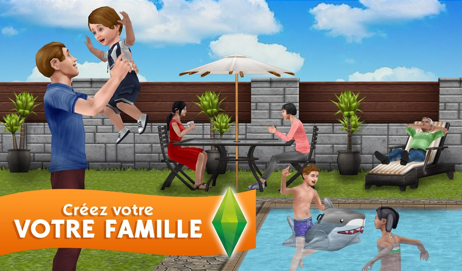 Les Sims™  FreePlay – Capture d'écran