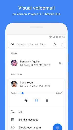Téléphone screenshot 5