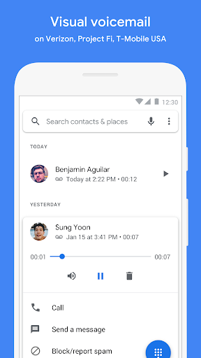 Google Phone screenshot 5