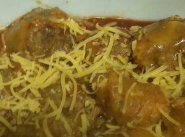 Enchila-ti-da Meatballs Recipe