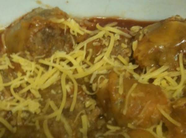Enchila-ti-da Meatballs