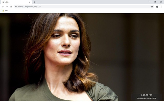Rachel Weisz New Tab & Wallpapers Collection