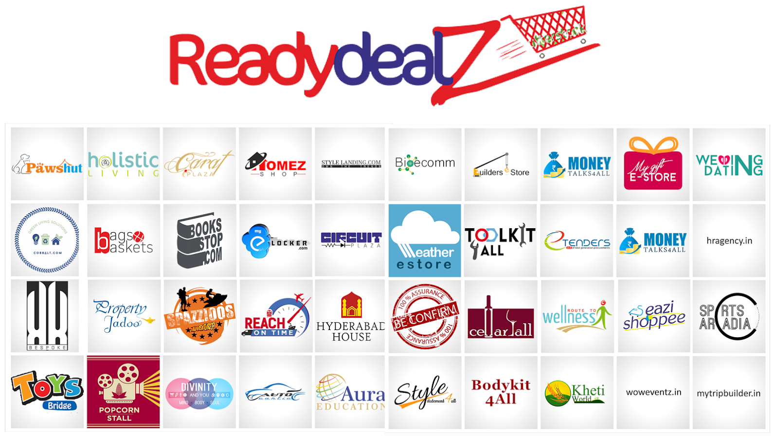 Ready Dealz Ecommerce- screenshot