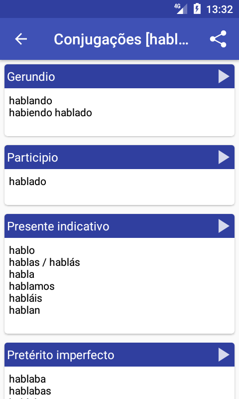 Spanish Dictionary - Offline- screenshot