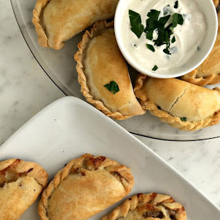 Philly Cheese Steak and New England Clam Empanadas.