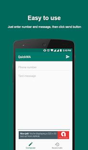 QuickWA - náhled