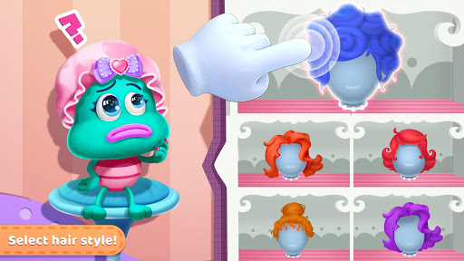 Little Monster's Makeup Game apkpoly screenshots 14