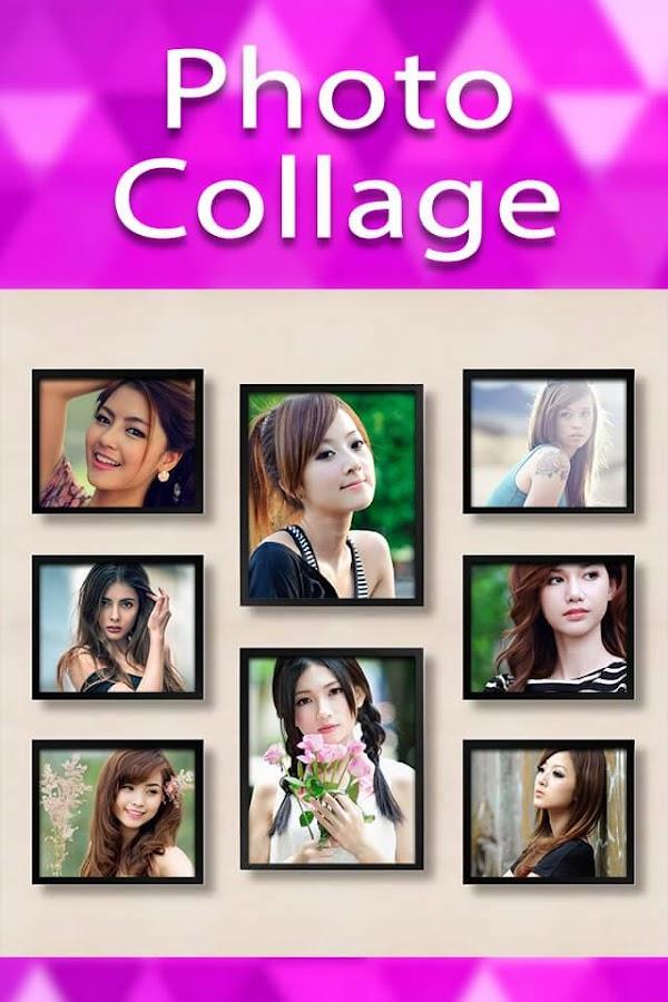 photo collage frames screenshot