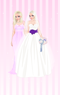 ❄ Icy Wedding ❄ Winter frozen Bride dress up game 3