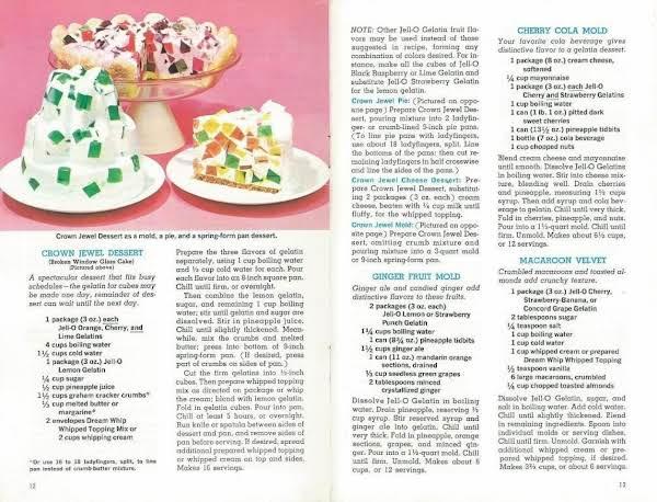 Broken Window Glass Cake Recipe