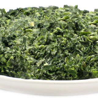 Rich and Dreamy, Skinny Creamed Spinach.
