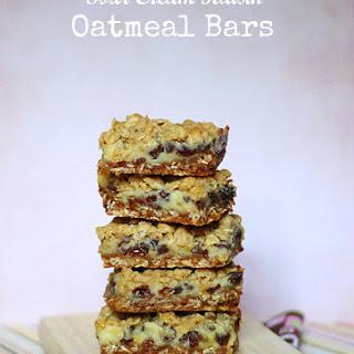 Sour Cream Raisin Oatmeal Bars.