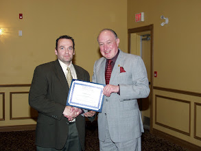 Photo: Frank Bann of Goodkey Weedmark received a TEGA Award