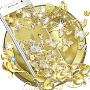 Gold Butterfly Diamond Theme