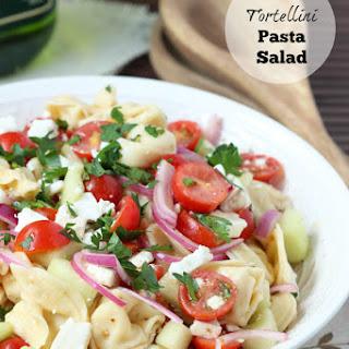 Tortellini Pasta Salad.