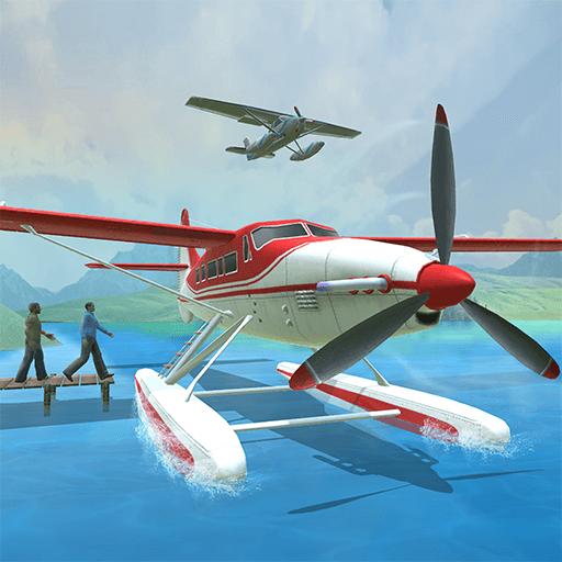 Sea Plane Flying Game: Real Flight Simulator