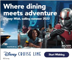 Disney Cruise Line Ad Creative