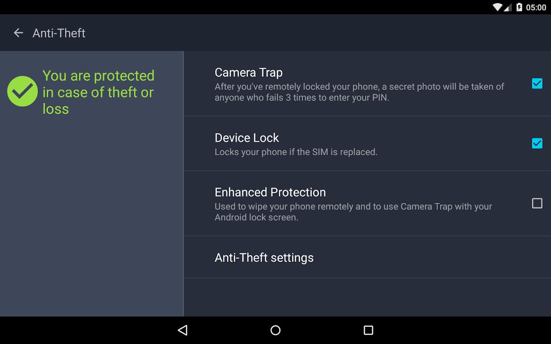 AntiVirus PRO Android Security- screenshot