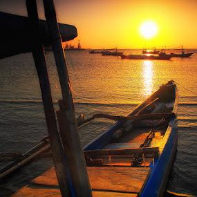 Menatap Laut Luas by Marcell Boli - Landscapes Sunsets & Sunrises