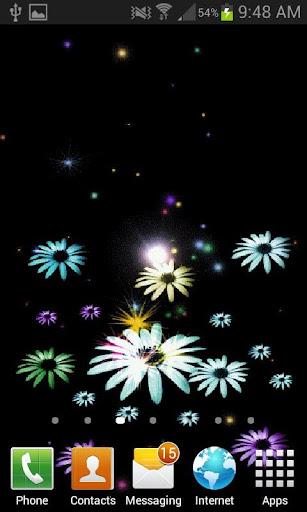 Flowers Fireworks LWP