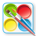 Kids Paint & Color Lite icon